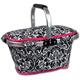 DII Insulated Market Basket or Picnic Tote, Perfect for Holidays Parties, Farmers Markets, BBQ's, Grocery Shopping…