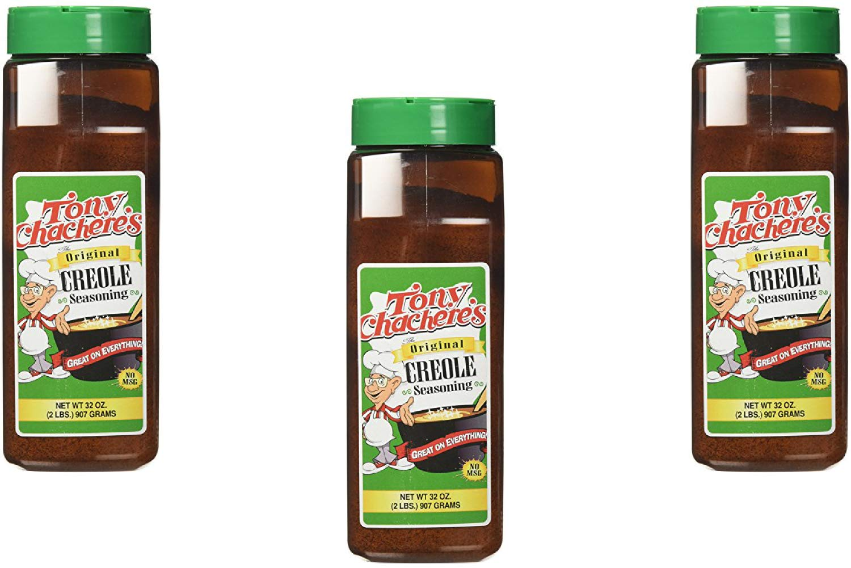Tony Chachere's Creole Seasoning 32oz (3 Pack)