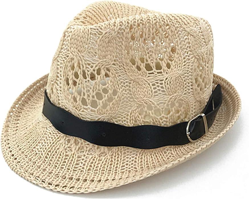 de0d08268e24 Amazon.com: Hollow Panama Hat for Children Caps Spring Summer ...