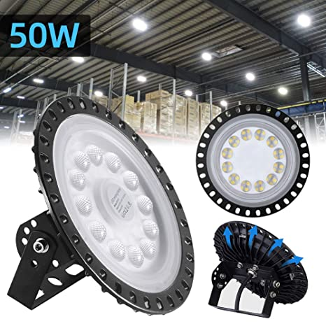Amazon.com: 50/100/200/300/500W UFO LED de alta bahía de ...