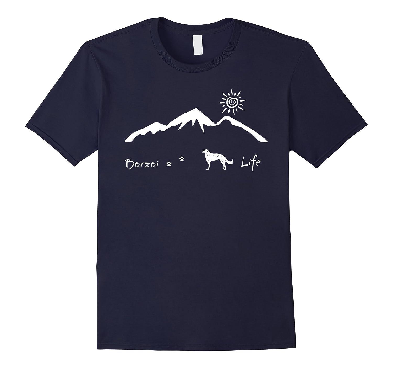 Borzoi Life - Dog lovely t shirt-Art