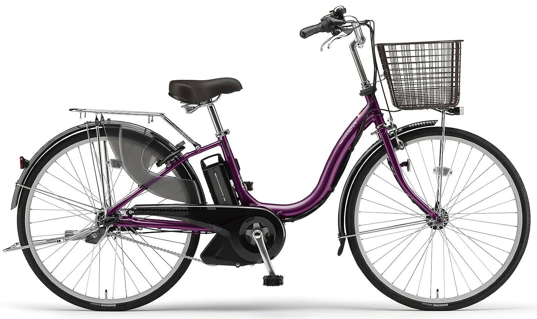 YAMAHA(ヤマハ) PAS ナチュラS 24インチ 電動自転車 2014年モデル [5.0Ahバッテリー、内装3段変速、オートライト機能、急速充電器付き] ベリーパープル PM24NS B00H5IS5SY