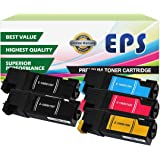 EPS Replacement 5PK Toner Set for Phaser 6500, Phaser 6500DN, Phaser 6500N, WorkCentre 6505, WorkCentre 6505DN, WorkCentre 6505N (2 BK, 1 Cyan, 1 Magenta, 1 Yellow)
