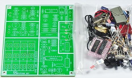 Superb Amazon Com Telephone Experimental Board Unassembled Kit For Wiring Digital Resources Attrlexorcompassionincorg