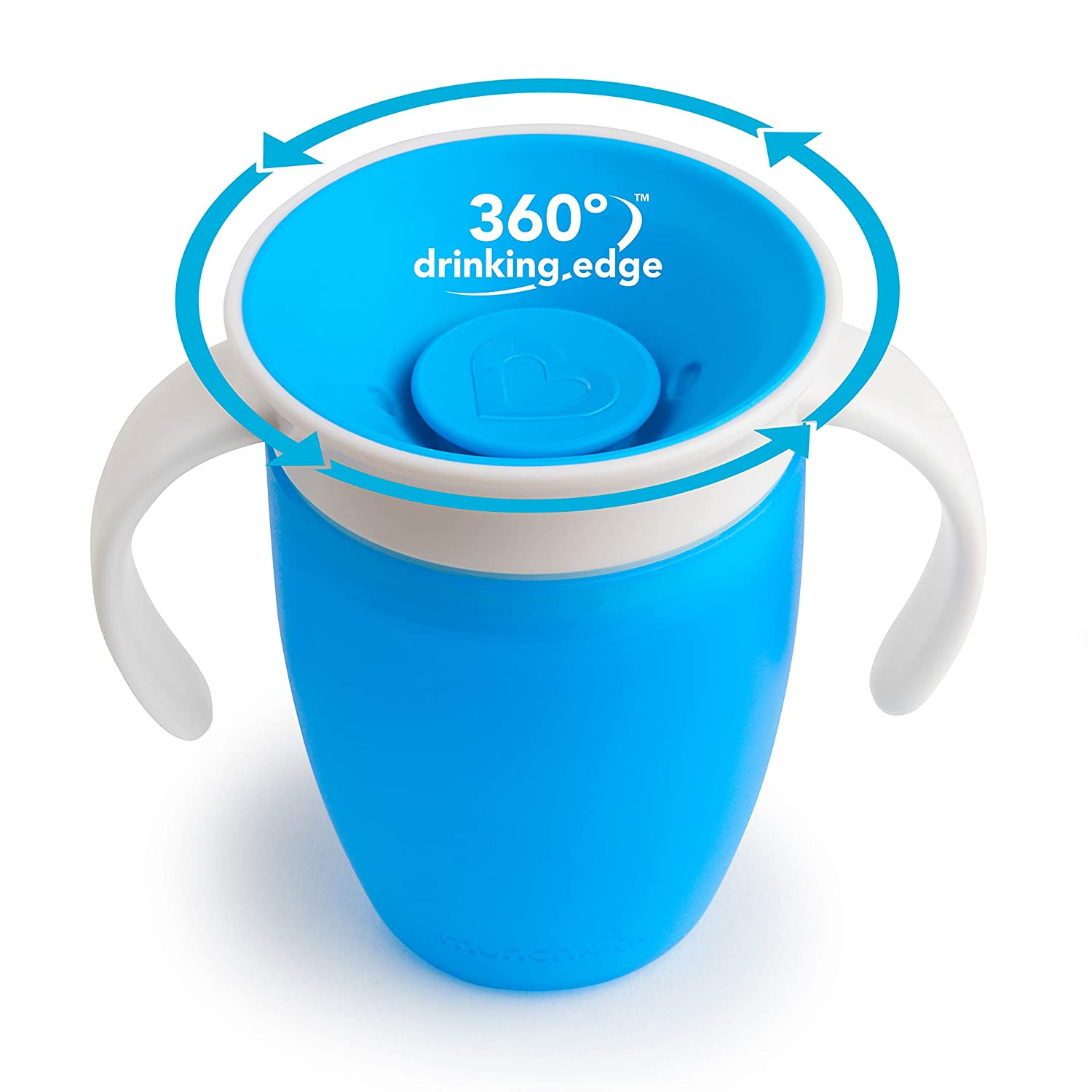 Munchkin Miracle 360 Degree Sippy Cup Blue 10 oz//296 ml