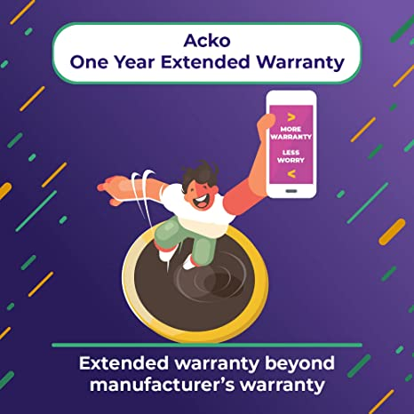 Acko 1 Year Extended Warranty For Laptops From Rs 60 000 To Rs 1 00 000 E Mail Delivery Amazon In Computers Accessories