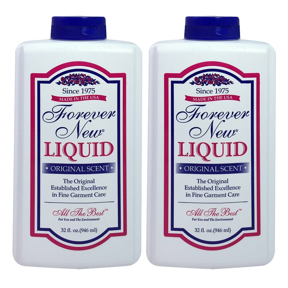 Forever New 32oz Liquid Original Scent Fabric Care Wash 2 Pack (64oz Total)