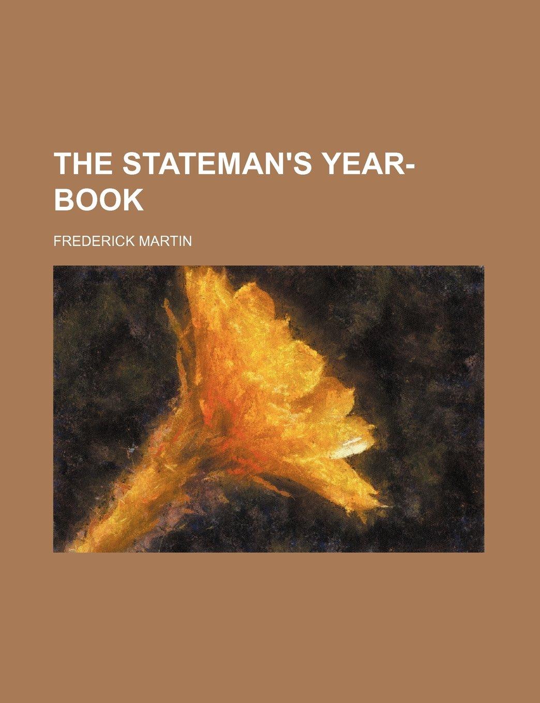 Download THE STATEMAN'S YEAR-BOOK ebook