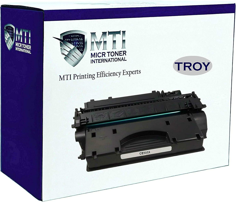 MTI Universal Troy 02-81501-001   HP CE505X (05X) MICR Toner Cartridge Hi-Yield (6,500 Pages) for TROY & HP Printers: P2055 / P2055d / P205dn / P2055x