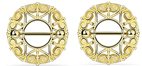 Nipple Rings Swirling Heart Tribal 316L Steel Barbell  Sold as a pair