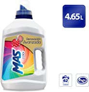 MAS Mas Color Detergente Líquido (4.65l), Pack of 1