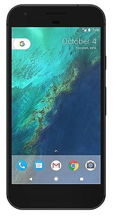 Google Pixel Phone - 5 inch display (Factory Unlocked US Version) (32GB,  Quite Black)
