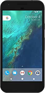 Google Pixel 1st Gen 32GB Factory Unlocked GSM/CDMA Smartphone for AT&T + T-Mobile + Verizon Wireless + Sprint (Quite Black)