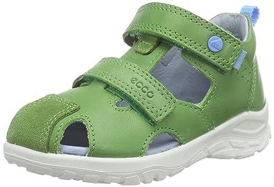 1bed21bbd67b4 ECCO Baby Boys' Peekaboo Sandals, Cactus (CACTUS/CACTUS56537), 4.5 Child