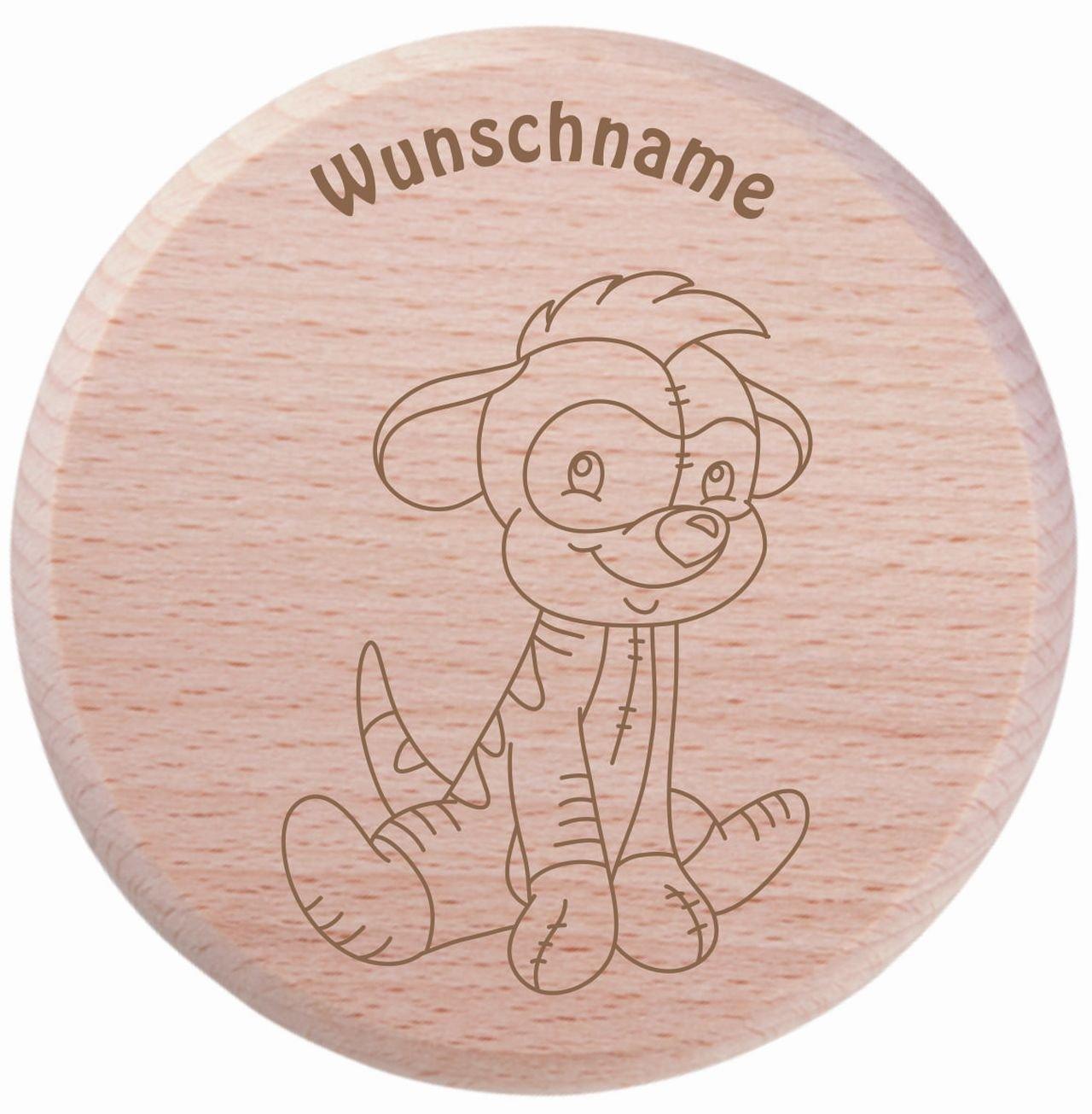 Farbklecks Collection - Trinkglas Deckel - Erdmännchen Motiv 4 - personalisierbar mit Namensgravur - Schutzdeckel - Glasdeckel - Insektendeckel - Insektenschutzdeckel - Glasabdeckung