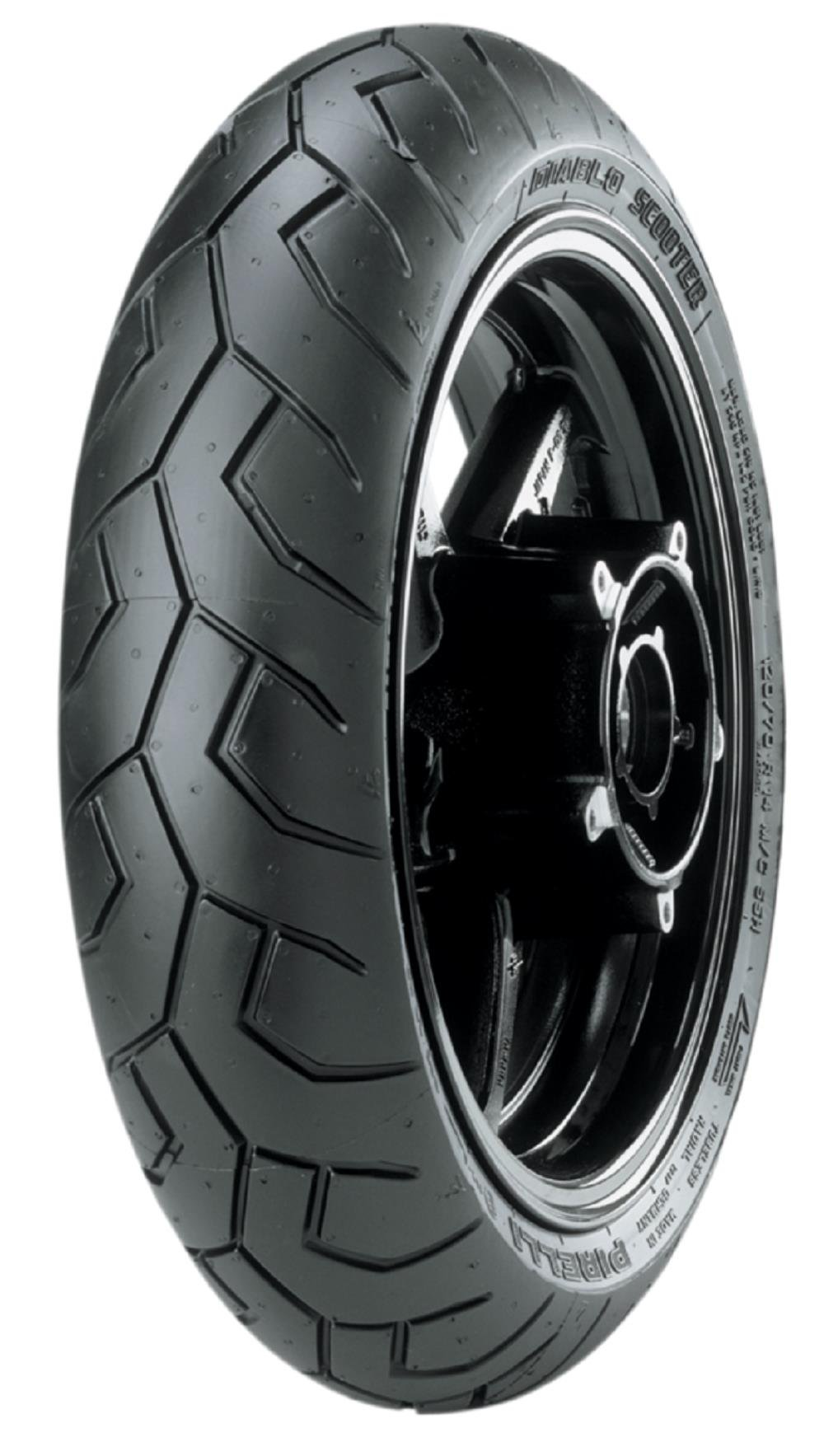 Pirelli Diablo Scooter Front/Rear Tire - 140/70-13 (13) 2429600 by Pirelli (Image #1)