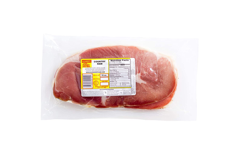 Alexander's Ham Company 10 Ounce Country Ham - AUTHENTIC, NORTH CAROLINA COUNTRY HAM!