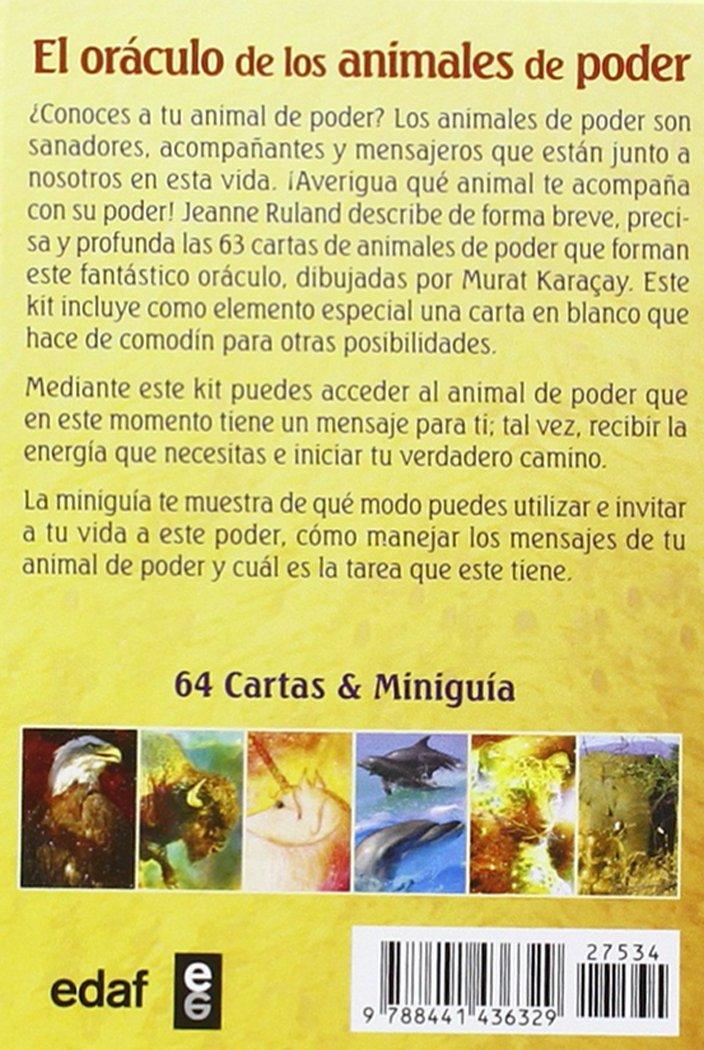 EL ORÁCULO DE LOS ANIMALES DE PODER. UN COMPAÑERO ...