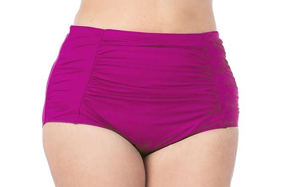 3014e4f7d2 La Blanca Women s Plus Size Island Goddess Ultra High Rise Pant Swim Bottom -22W-