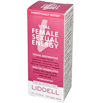 Vital female sexual energy by liddell reviews