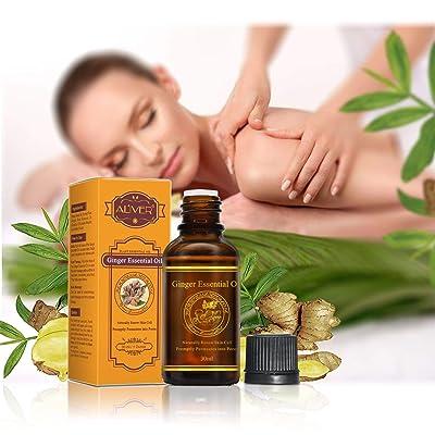 Pure Plant Essential Oils Ginger Relax Improve Sleep Massage : Garden & Outdoor