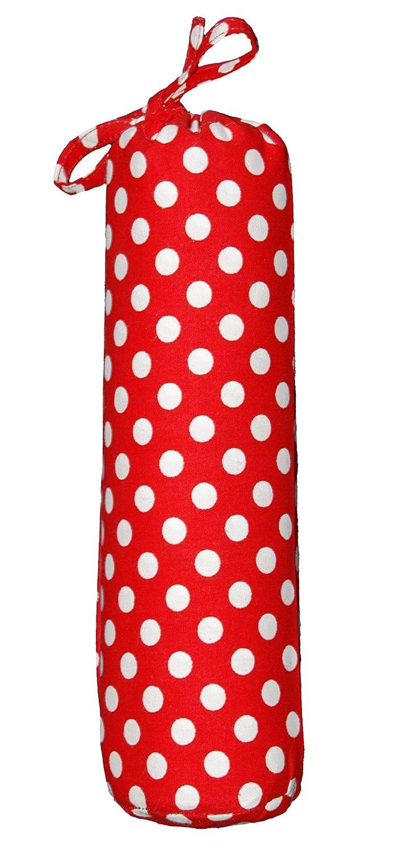 Taftan Drap Housse à pois rouge (60 x 120 cm) - Rouge HS-325