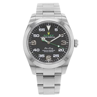 9c7084d7c59 Amazon.com: Rolex Oyster Perpetual Air-King 116900: Rolex: Watches