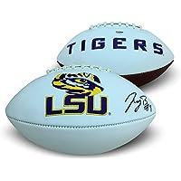 $299 » Joe Burrow Autographed LSU Tigers Signed Logo Football PSA DNA COA