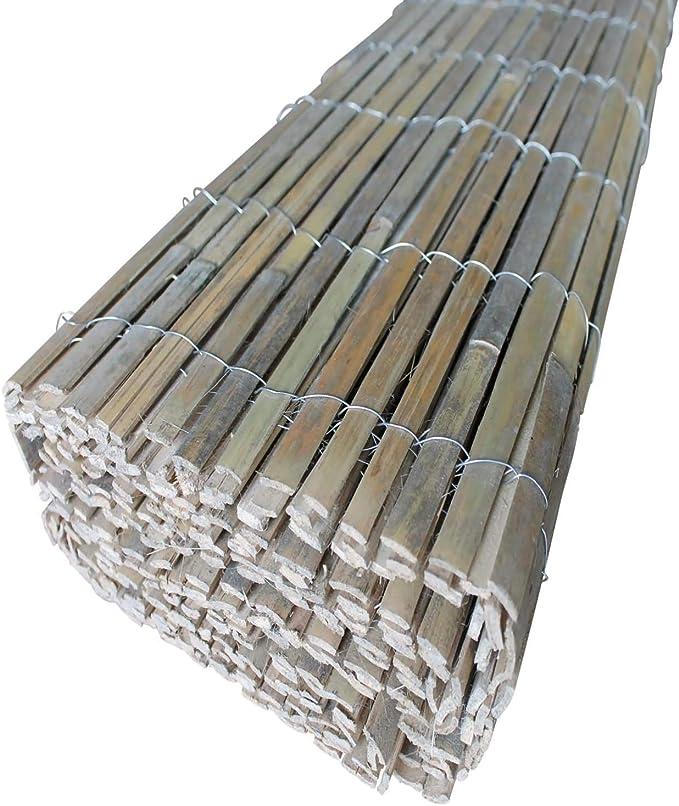 Bambú Visión Protección Wind bambú: Amazon.es: Jardín