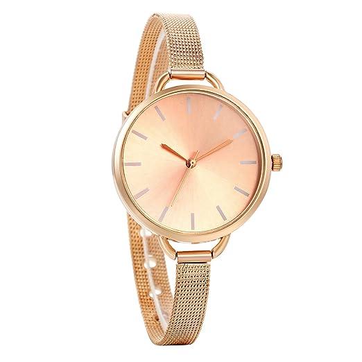 d3860dc56d36 Avaner Reloj de Mujer Analogico Minimalista Reloj de Pulsera Milanes Ultra  Fino
