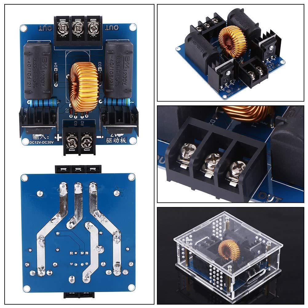 DC12-30V ZVS Kit de Bricolaje de Generador de Bobina de Alta Velocidad Piezas de Fuente de Alimentaci/ón Unidad Unassembled de Placa
