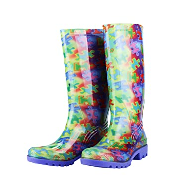 Free Spirit Piece of The Puzzle Ultralite&Trade; Rain Boots