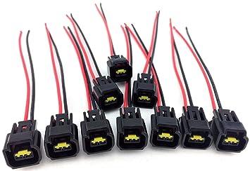 71i8czQqUML._SX355_ amazon com ignition coil wire harness repair 6 8 6 8l f350 f 350 Wiring Harness Diagram at bayanpartner.co