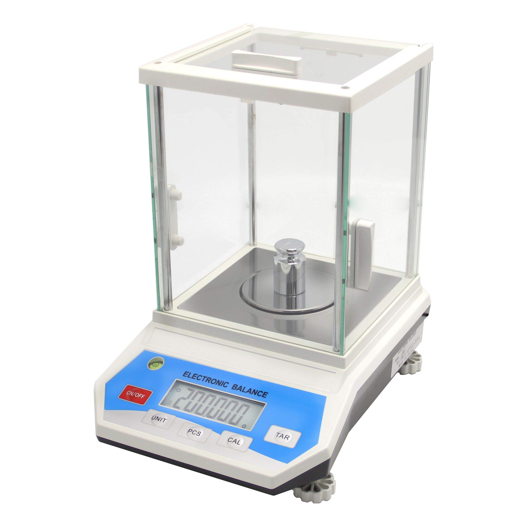 CGOLDENWALL Digital Analytical Balance High Precision Scale Digital Electronic Balance Scale for Laboratory Pharmacy (300g 1mg)