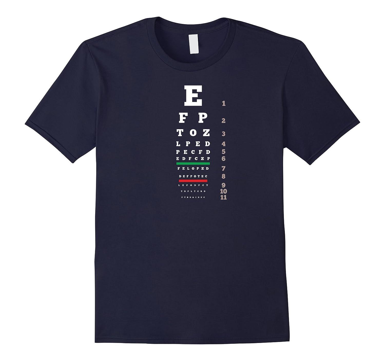 Snellen Eye Chart Test T Shirt Men Women And Kids Bn Banazatee