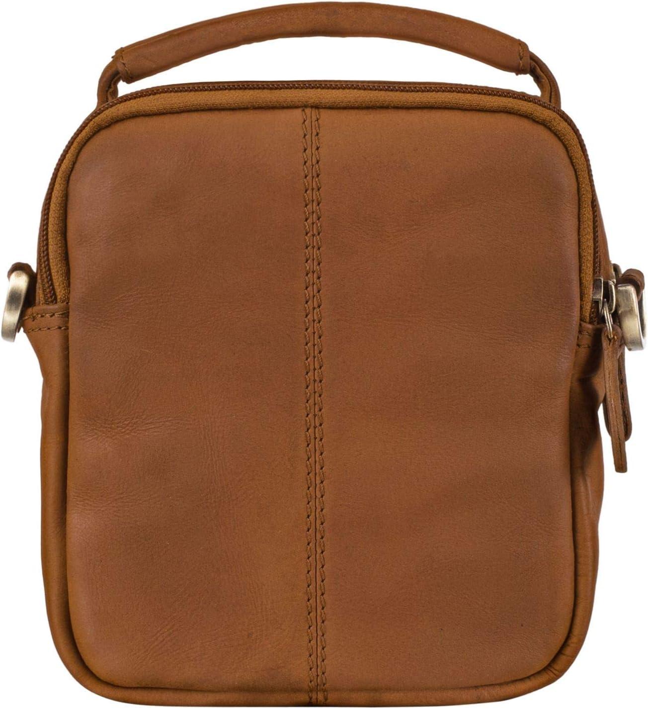 Colore:nero STILORD Keith Borsetta Uomo Piccola a Tracolla in Pelle Borsello Messenger Bag Borsa per Tablet 7 Pollici per Mare Stile Vintage