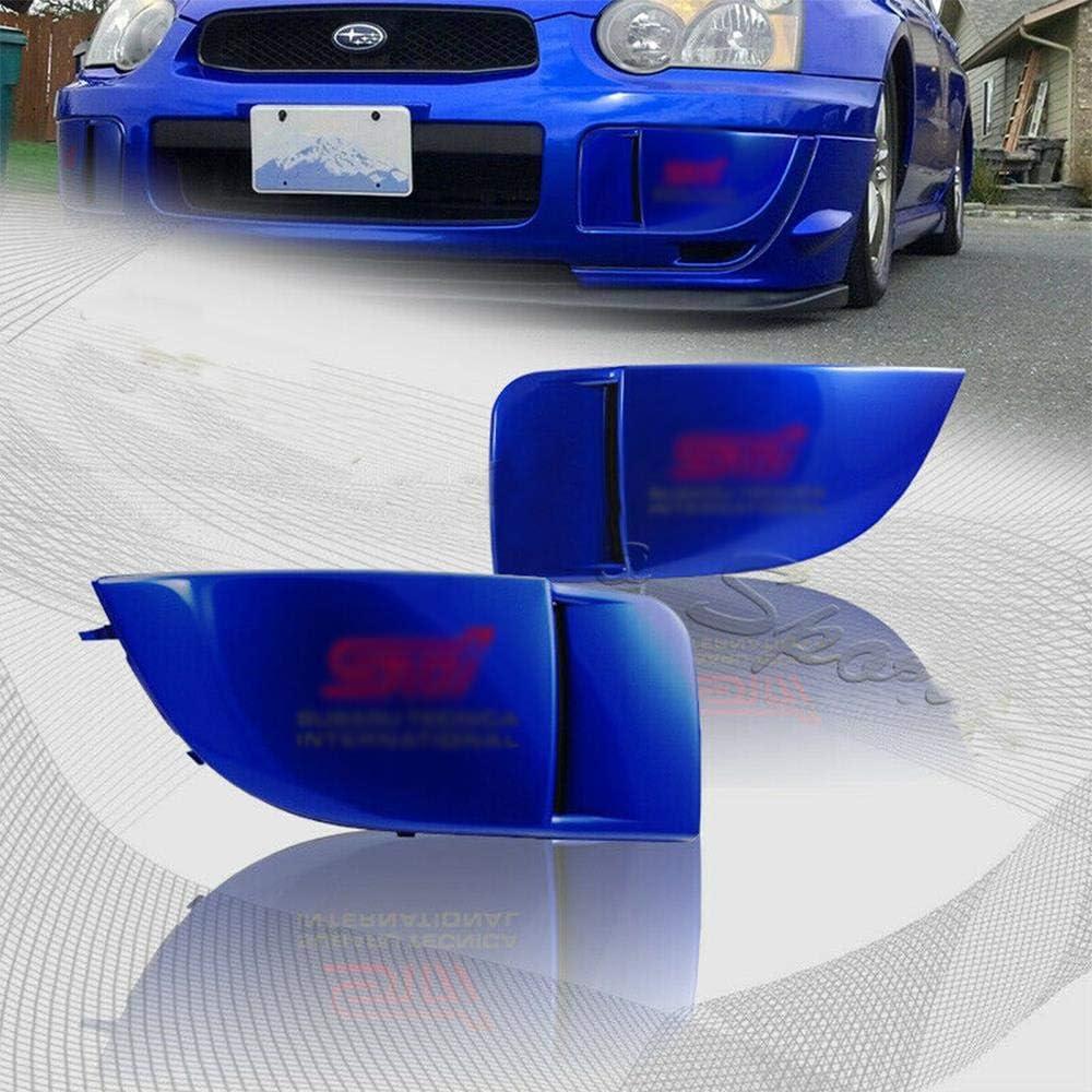 S SIZVER Blue Fog Light Lamp Bumper Bezel Cover Cap Compatible ...