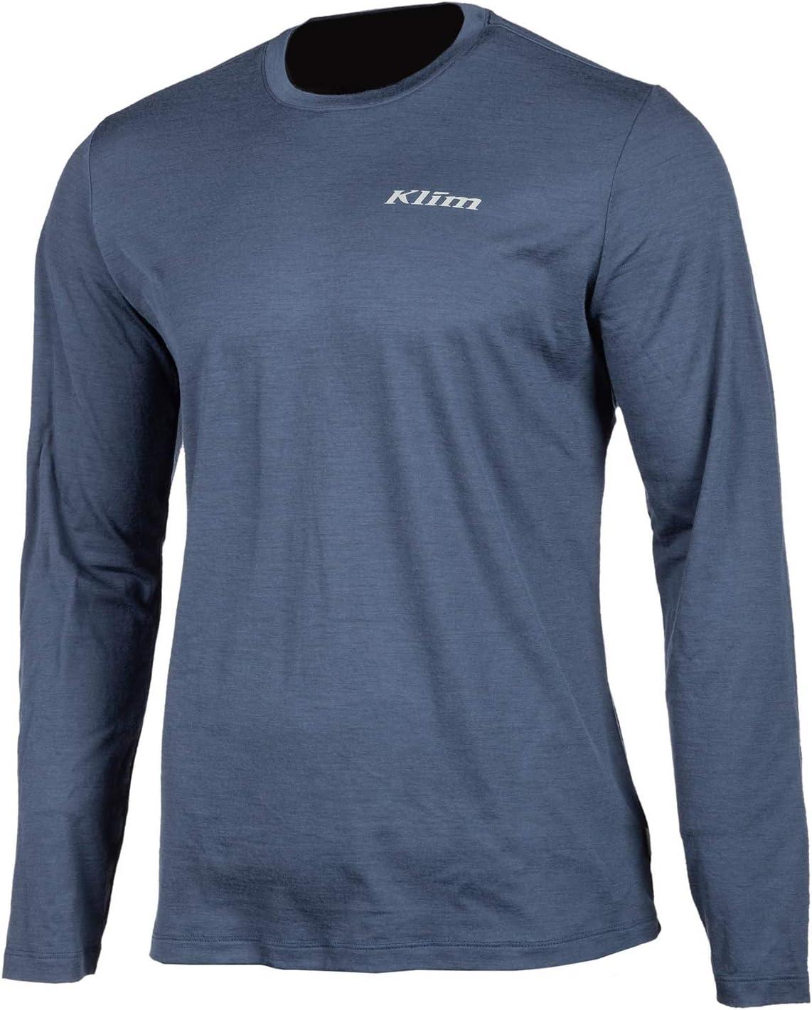 KLIM Teton Merino Wool LS Shirt XL Asphalt