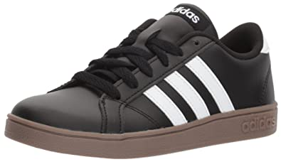 save off 57190 db888 adidas Performance Unisex-Kids Baseline Sneaker, Black White Gum, 1 M