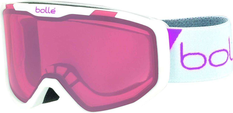 Black Camo Matte//Rosy Bronze, Boll/é Rocket Masques de Ski Unisex-Youth