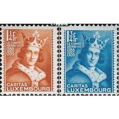 Luxembourg 252-256 (complète.Edition.) 1933 aide à l'enfance (Timbres pour les collectionneurs)