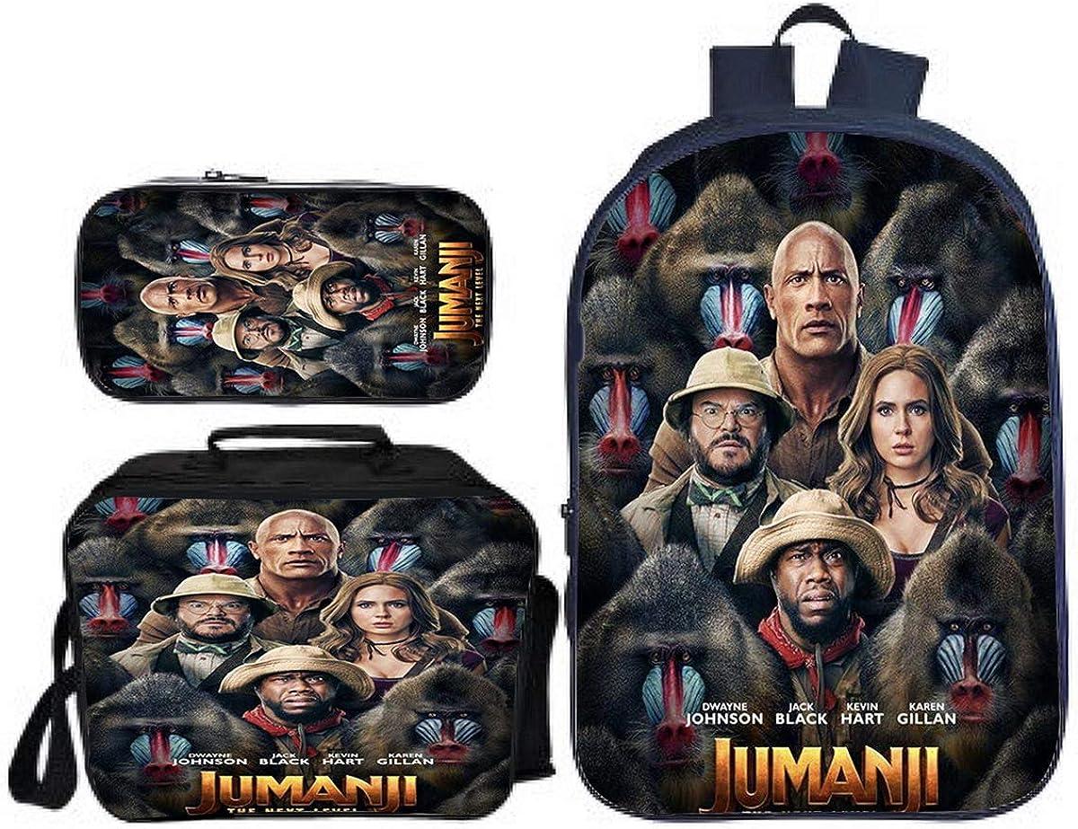 MPOX Jumanji Backpack Sale Special Price Set-Boys Back Bookbag School Philadelphia Mall to Lightweigh
