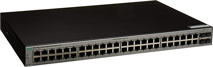 HP 1820-48G 48-Port Layer 2 Managed Gigabit Switch With 4x SFP Ports J9981A