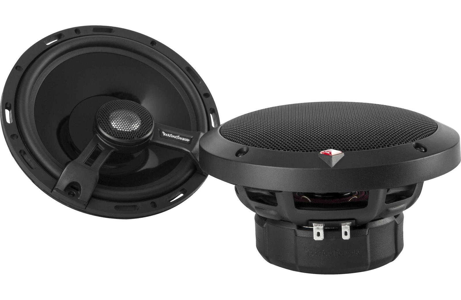 Rockford Fosgate T1650 6.5'' 2-Way Full Range Euro Fit Compatible Speakers