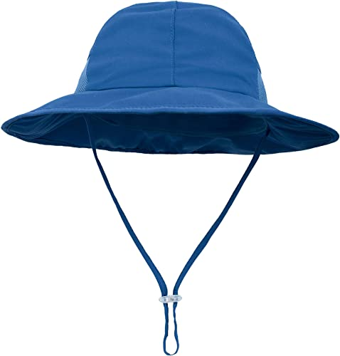 SimpliKids Sun Hat Baby Toddler Kids 50+ UPF Sun Protective Wide Brim Bucket Hat