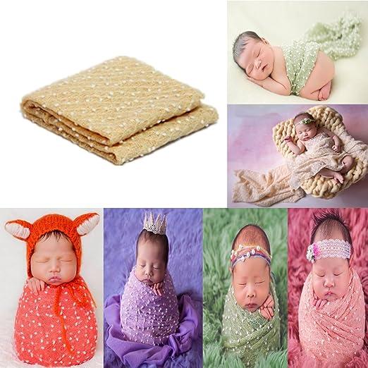 ea6826f27d3da Newborn Photography Props Newborn Wraps Baby Props Photo Blanket for Boys  Girls Photo Shoot