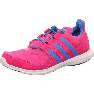 size 40 30ce8 30c52 adidas Hyperfast 2.0 K Chaussures de Course Unisexe pour Enfant - Rose -  Rose Bonbon,