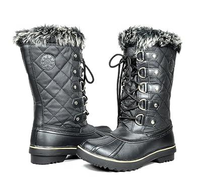 Amazon.com | Kingshow Women's Globalwin Waterproof Winter Boots ...