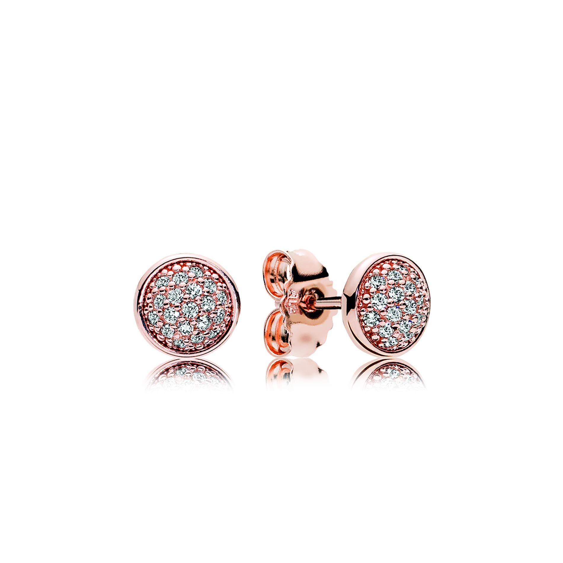 PANDORA-Stud-Earrings-in-PANDORA-Rose-with-38-Bead-Set-Clear-Cubic-Zirconia-280726CZ