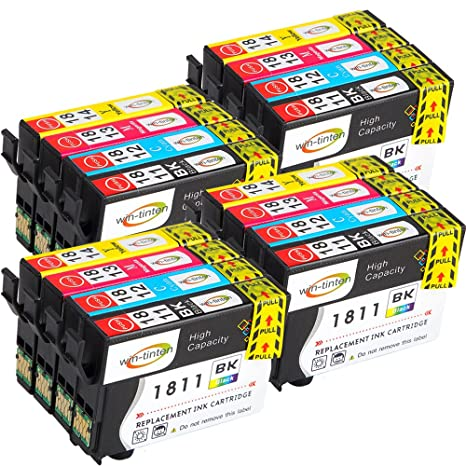 Win-tinten 16 T1811-T1814 Compatible Ink Cartridge Replace for ...